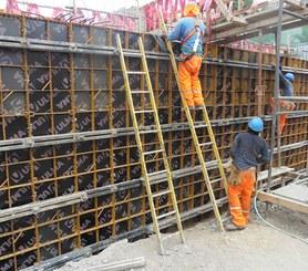 Duża wydajność na budowie