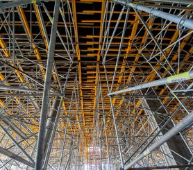 Realizacja stropów na znacznych wysokościach