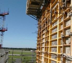 Wieża kontroli lotów, Lotnisko Pyrzowice, Polska