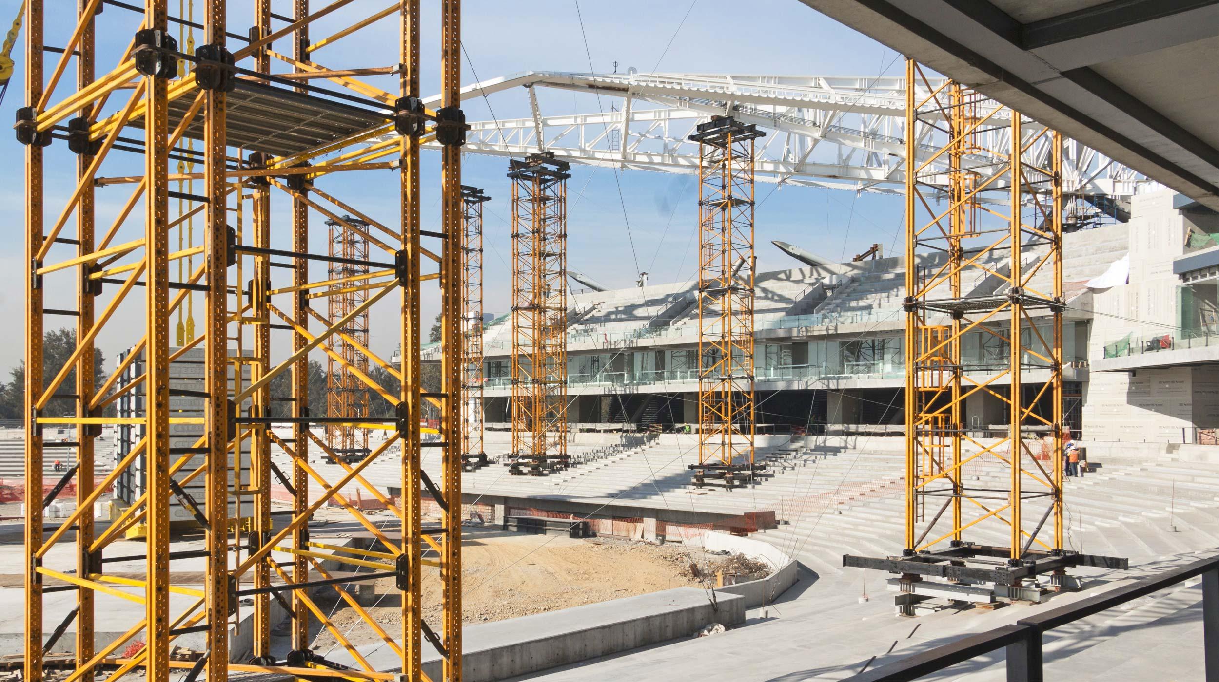 ULMA wzięła udział w budowie Stadionu im. Alfredo Harp Helu w Meksyku, który będzie siedzibą meksykańskiej drużyny bejsbolu - Diablos Rojos.