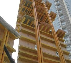Wieżowiec Coast w Lakeshore East w Chicago, USA