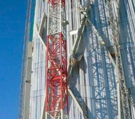 """Wieżowiec """"Diagonal Zero Zero"""" w Barcelonie, Hiszpania"""