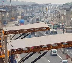 Autostrada Dżakarta-Cikampek II, Karawang, Indonezja