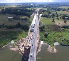 Most MS-4A nad rzeką Odrą w ciągu drogi ekspresowej S3, Polska