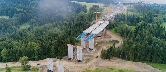 Obiekt 22 w ciągu drogi ekspresowej S7, Polska