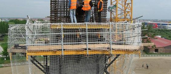 Pylon wiaduktu w ciągu obwodnicy Bukaresztu, Rumunia