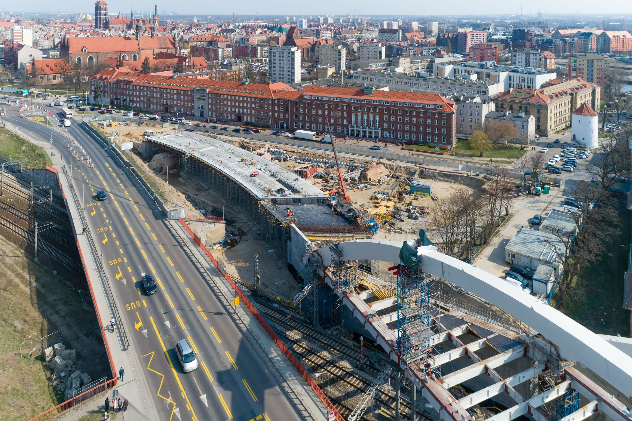 Realizacja czterech nowych obiektów inżynieryjnych w ramach inwestycji.