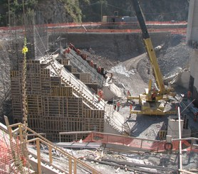 Elektrownia wodna La Higuera w San Fernando, Chile