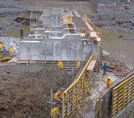 Elektrownia wodna Licán, gmina Río Bueno, Chile