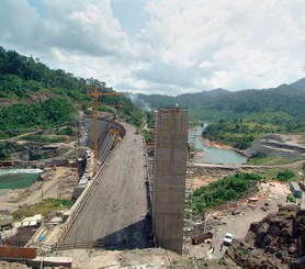 Hydroelektrownia Changuinola I, Panama