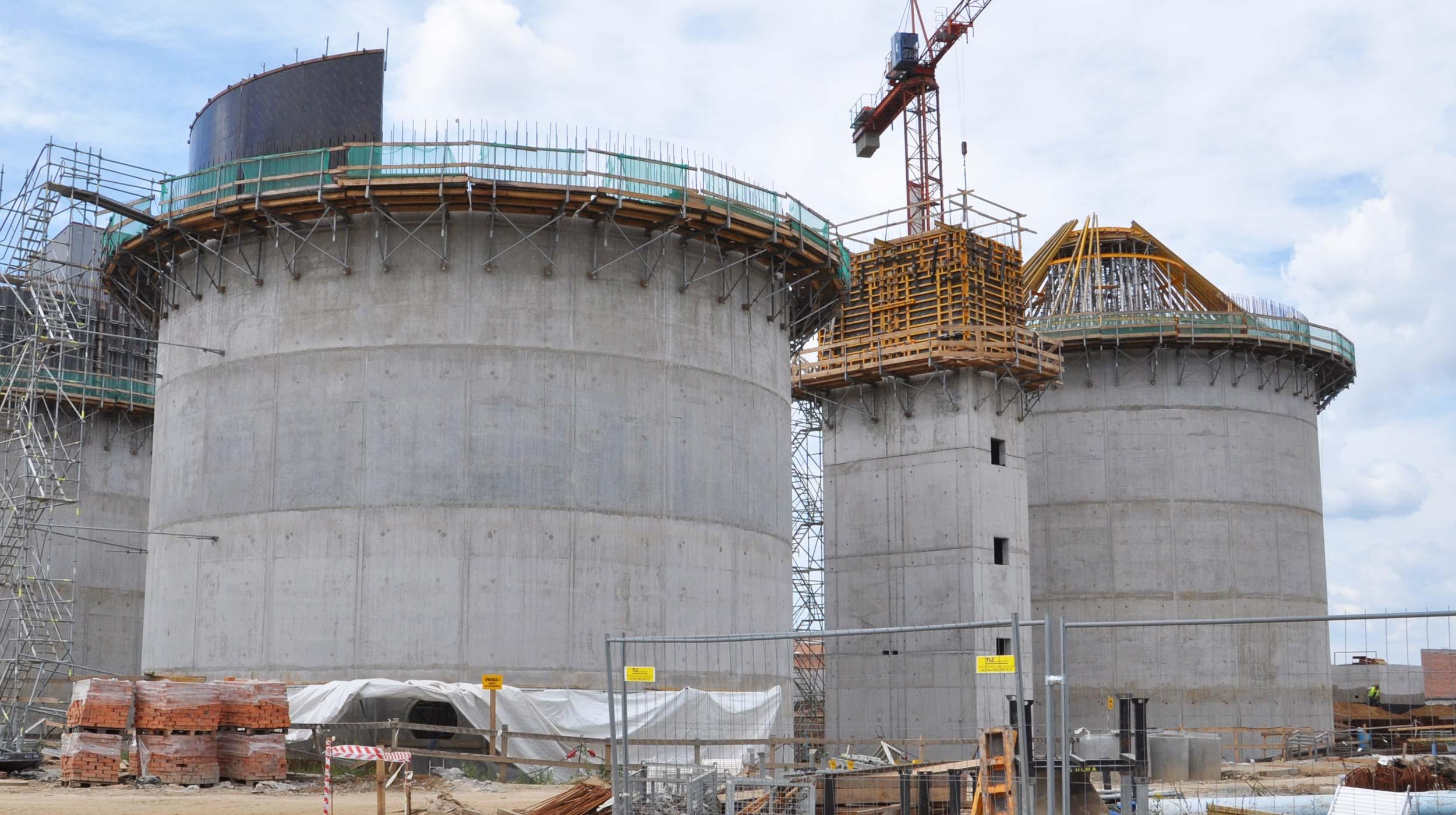 """Rozbudowa i modernizacja Wrocławskiej Oczyszczalni Ścieków """"Janówek""""zapewniła możliwość oczyszczenia w ciągu doby około 140 000 m³ ścieków."""