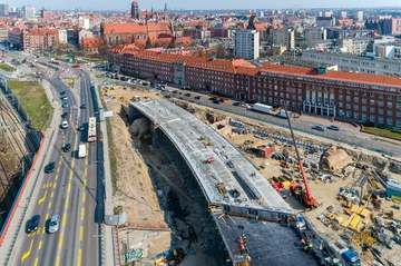 Cztery nowe obiekty inżynieryjne w Gdańsku