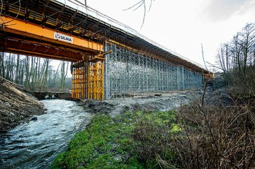 Deskowania ULMA na budowie obwodnicy Płocka