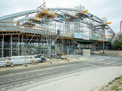 Kolejny etap remontu linii kolejowej E-30 w Krakowie