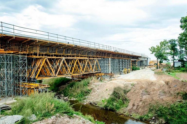 Kratownice MK na budowie dwóch wiaduktów w ciągu drogi S3
