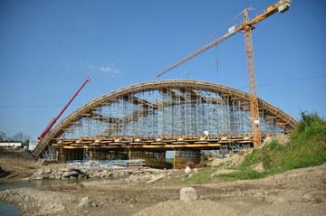 Most na rzece Stradomce k. Bochni