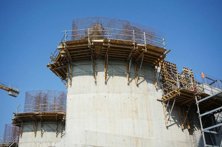 ULMA na budowie zbiornika przeciwpowodziowego w Raciborzu