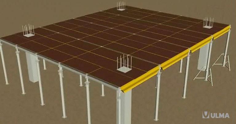 Panelowe deskowanie stropowe CC-4