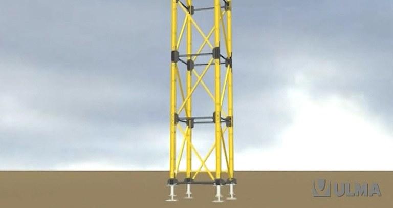 System wież wysokonośnych MK-150